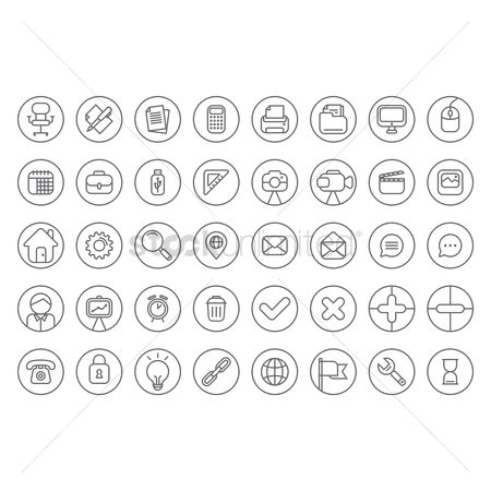 Map pointer : Flat icons