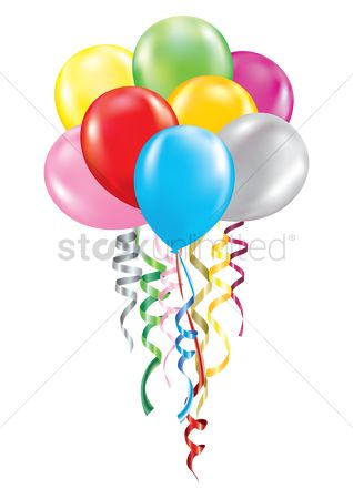 Party : Floating balloons concept