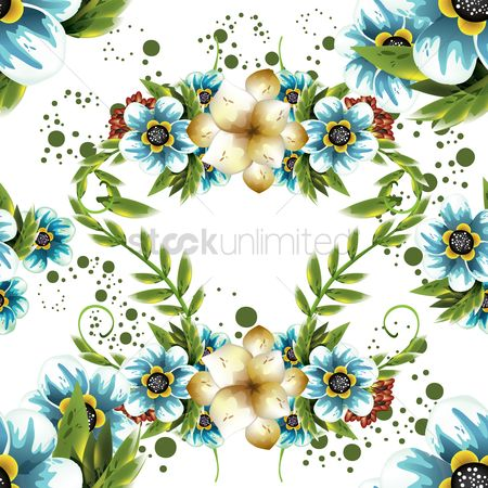 Backdrops : Floral background