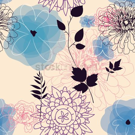 Floral : Floral design background