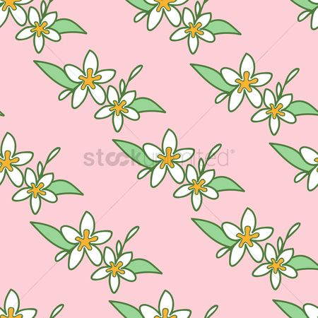 Background : Floral pattern background