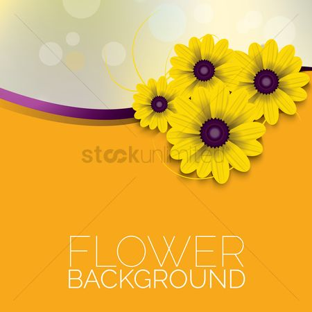Copy space : Flower background