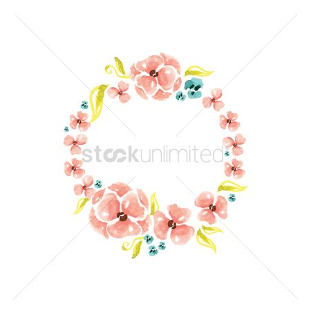 Budding : Flower garland