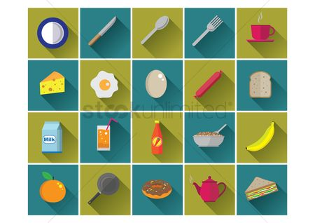 Bananas : Food icons