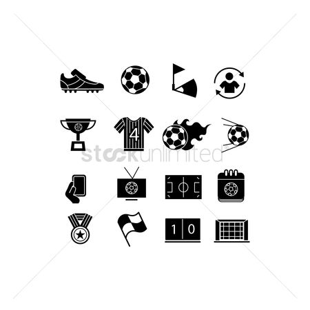 Soccer : Football icon pack