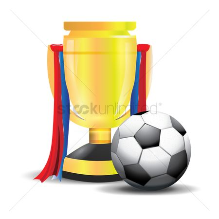 Reward : Football with trophy