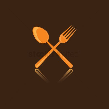 Fork : Fork and spoon icon