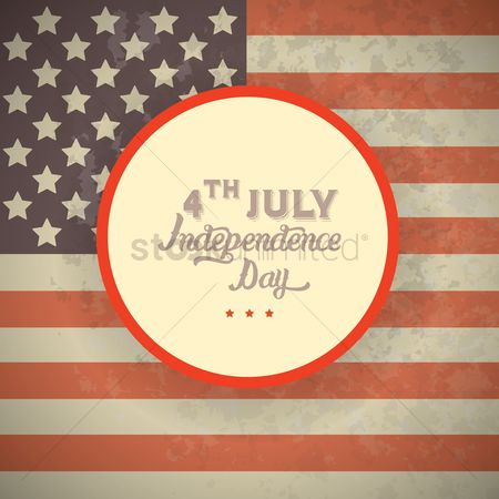 Poster : Fourth july independence day poster