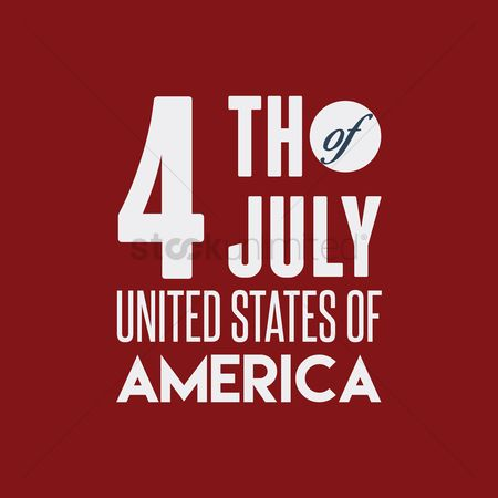 Poster : Fourth of july united states of america poster