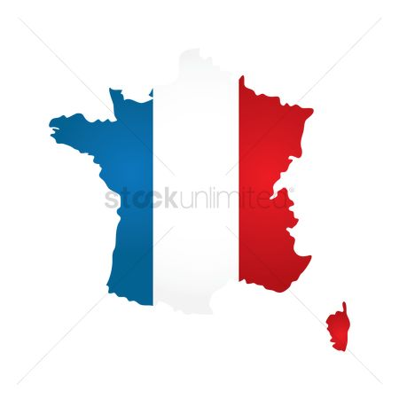 Tricolored : France map