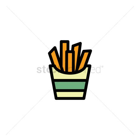 French fries : French fries