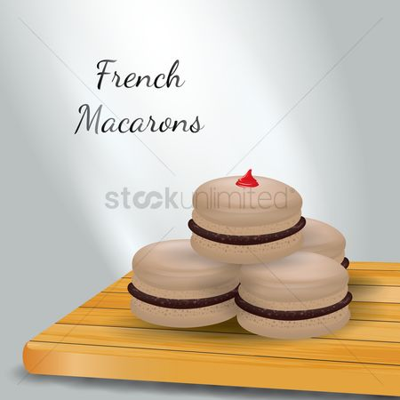 Flavors : French macarons