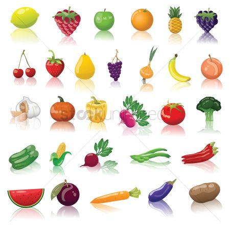 Bananas : Fruits and vegetable collection