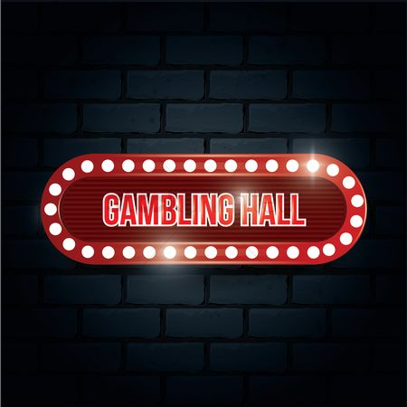 Signages : Gambling hall