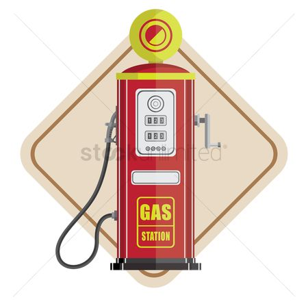 Gases : Gas station