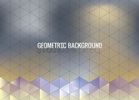 Faceted : Geometric background