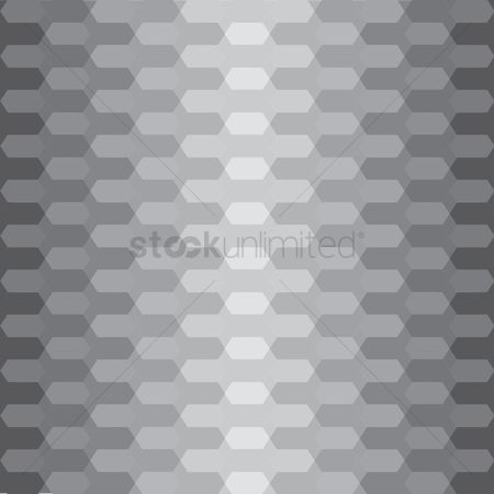 Silver : Geometric background