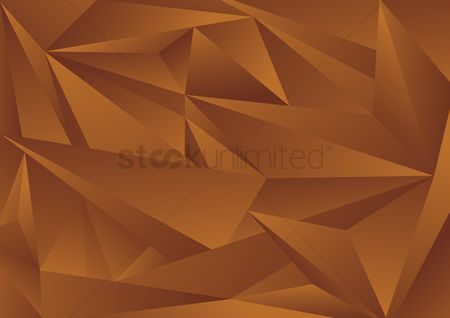 Trendy : Geometrical patterns on brown background