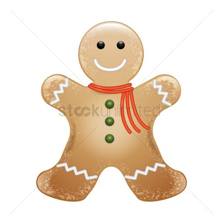Confections : Gingerbread man