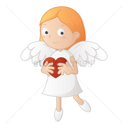 Play kids : Girl angel character