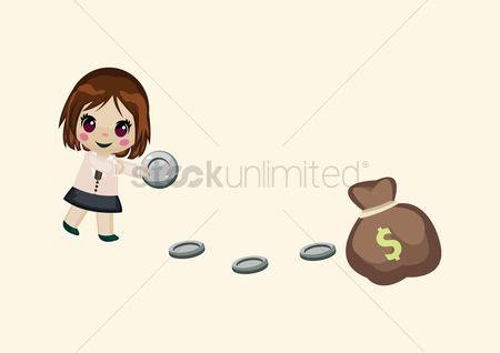 free collect money stock vectors stockunlimited