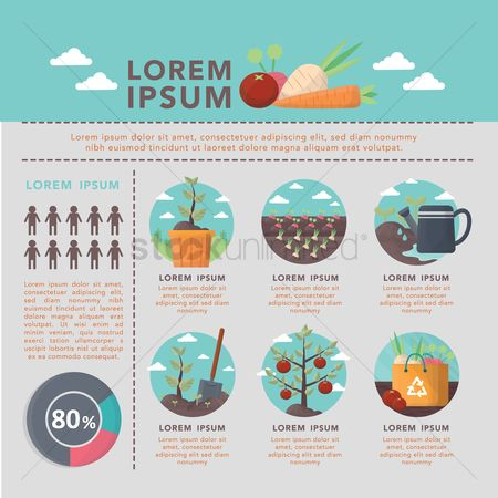 Fruit : Go green infographic