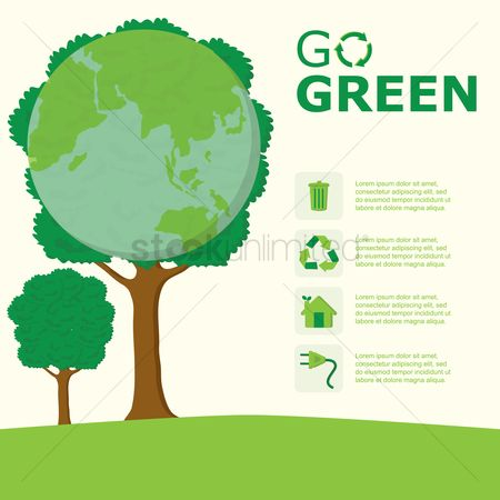 Save trees : Go green