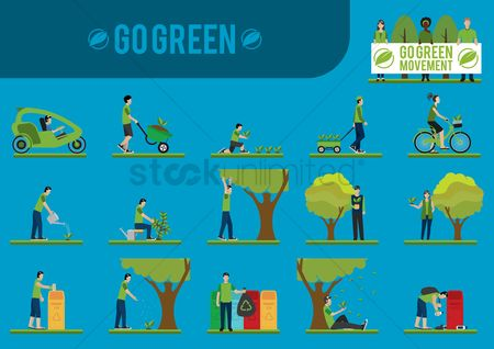 Wheel : Go green