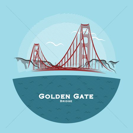 United states : Golden gate bridge