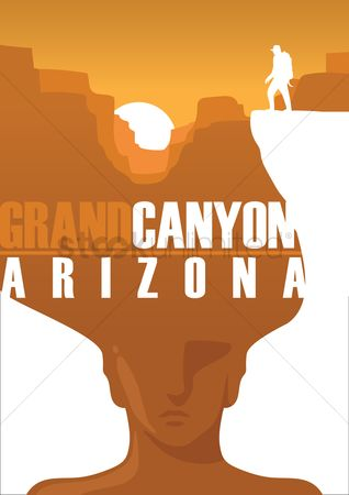 Poster : Grand canyon arizona
