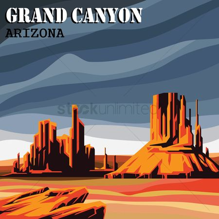 Tourist attractions : Grand canyon
