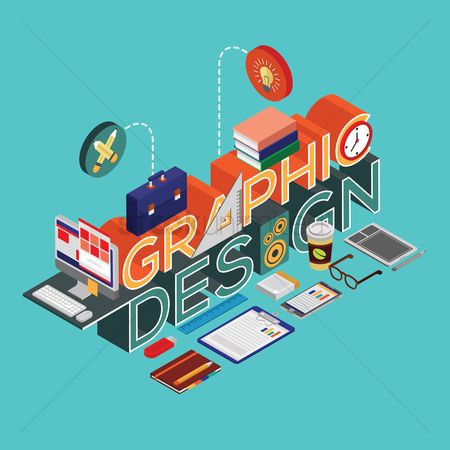 Mouse pad : Graphic design lettering design