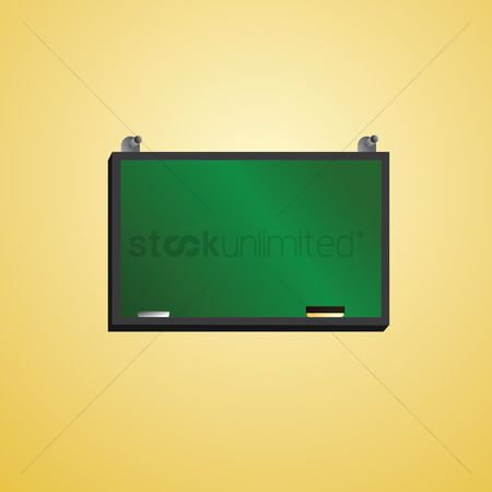 Duster : Green blackboard