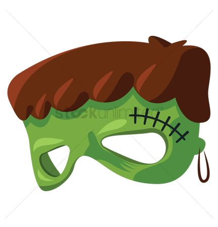Oct : Green monster mask