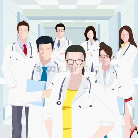 Medical : Group of doctors