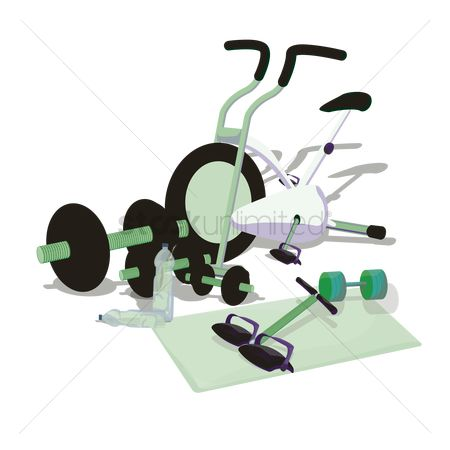 Indoor : Gym equipment