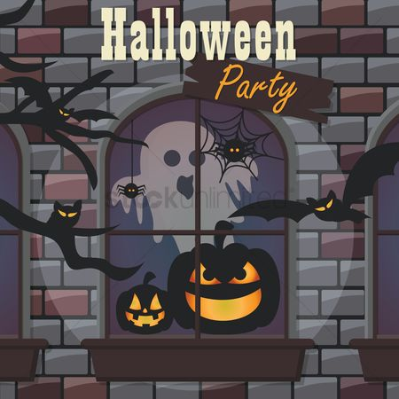 Jack o lantern : Halloween party
