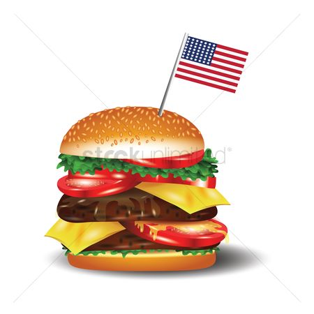 Eat : Hamburger