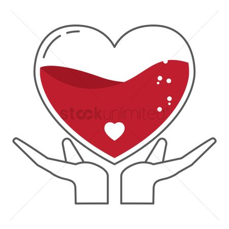 Help : Hands holding heart symbol