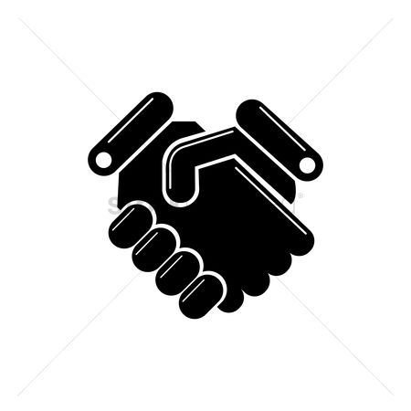 Business deal : Handshake icon