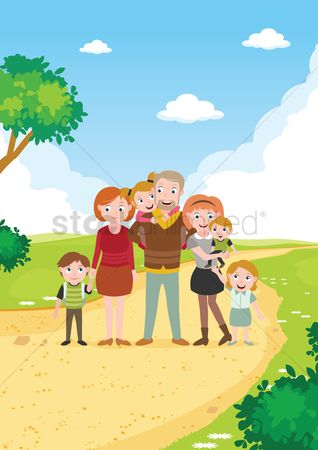 Kids : Happy family poster