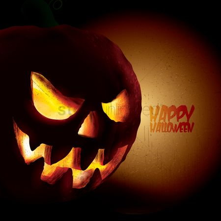 Jack : Happy halloween design