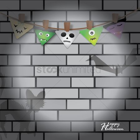 Wall : Happy halloween