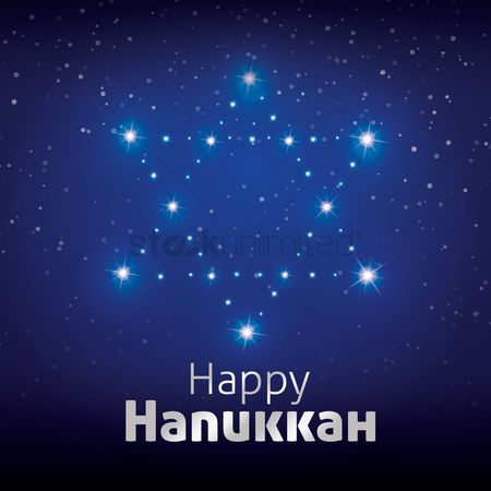 Lighting : Happy hanukkah design