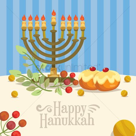 Confectionery : Happy hanukkah