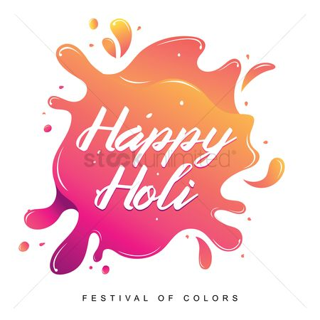 Traditions : Happy holi festival