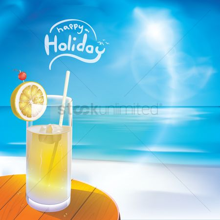 Summer : Happy holiday wallpaper