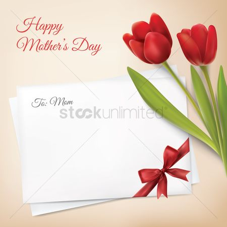 Thankful : Happy mother s day greeting design