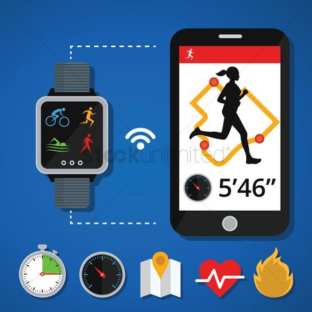 Smart : Health and fitness concept