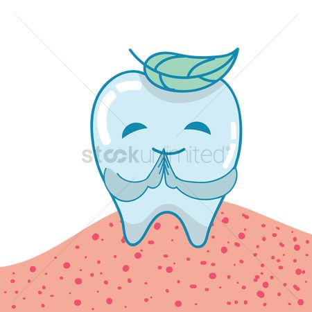 Dentist : Healthy tooth